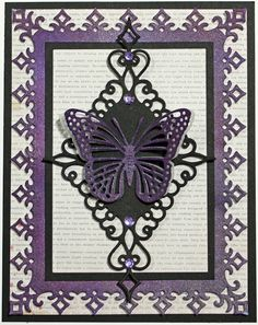 """Cheery Lynn Designs Blog: """"Misfit' Butterfly Card with Corina Finley"""