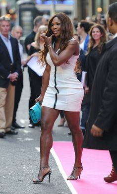 03617e33756d8 defending champion   legendary Serena Williams at the pre Wimbledon 2013  party
