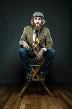 Of Beards and Men, A Photo Project by Joseph D.R. OLeary