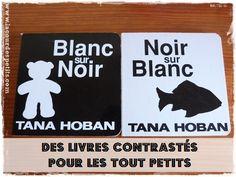 Les livres de Tana Hoban en Noir et Blanc, pour les bébés #TanaHoban #livre #bebe