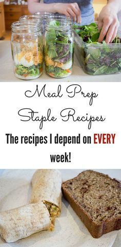 Meal Prep Staples: The recipes I make each week! - Nymph In the Woods - http://nymphinthewoods.com/2015/06/meal-prep-staples/