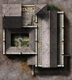 Winterhaven Temple of Avandra - F2 rooftops by dasomerville.deviantart.com on @DeviantArt  http://dasomerville.deviantart.com/gallery/