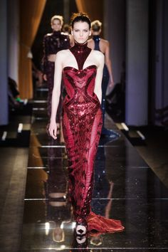 Défile Versace Haute couture Automne-hiver 2013-2014 - Look 26
