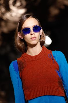 Acne Studios added a dose of retro chic to PFW with these oh-so cool tinted shades.