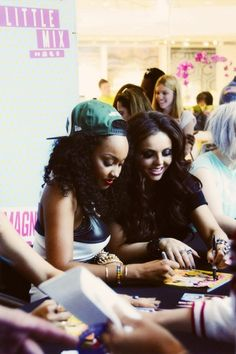Leigh and Jesy :)