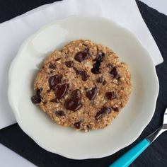 Choc chunk breakfast cookie by Including cake