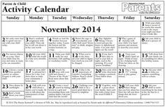 Noviembre 2014 elementary - English