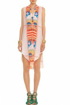 Sleeveless Shirt Dress - Fair Trade by Mara Hoffman