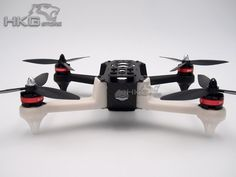 """HJ2804-X1 280mm PCB Quadcopter Frame Kit  with BR2204 motor + 12A ESC + 6"""" Props"""