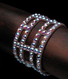 Bettina Rhinestone Bracelet JLB106 | Dancesport Fashion @ DanceShopper.com