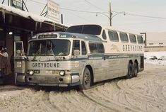 vintage bus greyhound san francisco | day in 1970. (Added 11/19/05.)