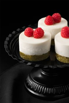Cheesecake aux biscuits thé vert/pomme {Cheesecake green tea/apple biscuits}