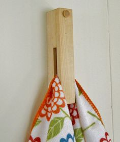 Dish and Hand Towel Holder Great Stocking Stuffer by 2HeartsDesire, $10.00
