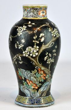 Buy online, view images and see past prices for Chinese Black Matte Painted Porcelain Vase. Invaluable is the world's largest marketplace for art, antiques, and collectibles.