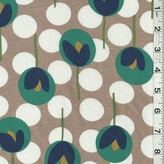 tulip dot fabric