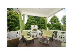 Best deck I've ever seen Cool Deck, Outdoor Furniture Sets, Outdoor Decor, Seen, Home Decor, Interior Design, Home Interiors, Decoration Home, Interior Decorating