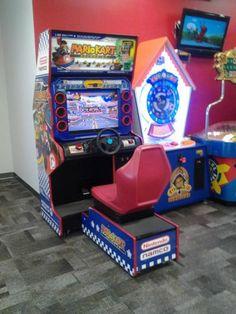 Namco Nintendo Mario Kart Arcade GP Driving Racing Sit Down MarioKart Coin Oper | eBay