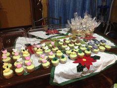 Cupcakes te de canastilla