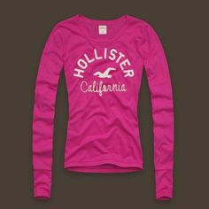 93b0c46e650e40 Hollister Shirts, Hollister Clothes, Cute Shirts, Girls Tees, Shirts For  Girls,