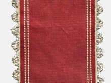 1840-1850 ribbon tie detail