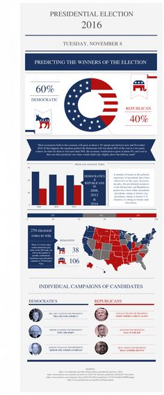 USA Presidential Election 2016 Infographic  Infographic
