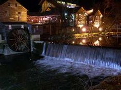 The Old Mill in Pigeon Forge, Tennessee.
