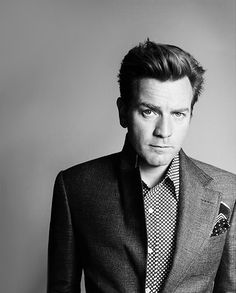 Ewan Mcgregor, he can sing,he looks hot in a military uniform...what else you need? Oh did i mention he is a Jedi..  Chyeah!
