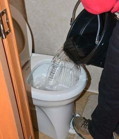 Stop RV Toilet Bowl from Leaking | Rv bathroom, Preventive ...