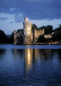 Blackrock Castle River Lee Near Cork City Co Cork Ireland Canvas Art - The Irish Image Collection Design Pics x Cork Ireland, Ireland Travel, Beautiful Castles, Beautiful Places, Irish Images, Cork City, Water Lighting, Light Water, Fantasy Castle