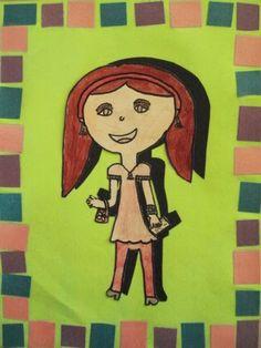 a faithful attempt: Shadow Portraits First Grade Art, 4th Grade Art, Grade 3, Shadow Portraits, Self Portrait Drawing, Elementary Art, Teaching Art, Art For Kids, Kid Art