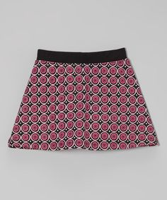 Take a look at this Pink Punch A-Line Skirt - Toddler & Girls by CR Kids on #zulily today!