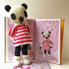 Isabelle Kessedjian: Mes animaux au crochet : Dédicaces chez Lil Weasel.