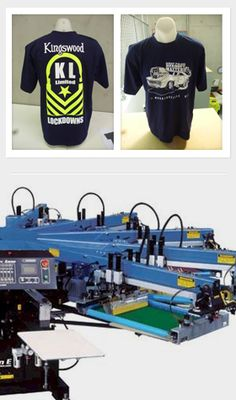 An example of our automated screen printing machine, here in tauranga new zealand  colourworksnz.com