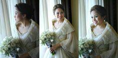 Traditional Maria Clara wedding dress in Pina by Harley Ruedas Filipiniana Wedding Theme, Filipiniana Dress, Wedding Gowns, Filipino Wedding, Dream Wedding, Wedding Stuff, Wedding Inspiration, Wedding Ideas, Beautiful Bride
