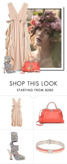 """""""Boho Inspired Fendi Outfit"""" by majezy ❤ liked on Polyvore featuring Fendi"""