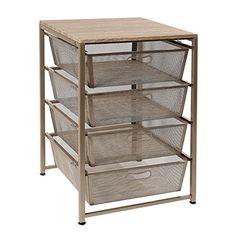 Member's Mark Steel Mesh Organizer Detail 1 Under Desk Storage, Metal Storage Racks, Storage Drawers, Bin Storage, Drawer Cart, Personal Storage, Diy Kitchen Storage, Office Cabinets, Organizing Your Home