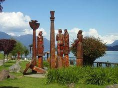 Panguipulli, decima Región, o Región de los Lagos , Chile