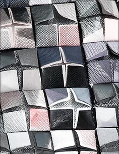 New embroidery fashion haute couture texture Ideas Couture Embroidery, Embroidery Fashion, Diy Embroidery, Fabric Manipulation Techniques, Textiles Techniques, Textile Texture, Textile Fabrics, Fabric Origami, Origami Skirt