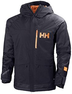 Helly Hansen Mens Fernie Jacket Winter Tech Graphite Blue  L -- Click image to review more details. (This is an affiliate link)
