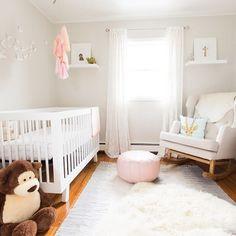 Elegant Pink & Grey Nursery - Project Nursery