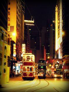 Central by Night - Hong-Kong, China