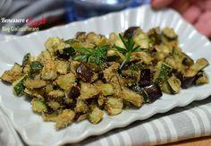 Zucchine e melanzane al forno