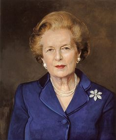 Richard Stone — Portrait of Baroness Margaret Thatcher, 2004 Women In History, British History, Auburn, The Iron Lady, Margaret Thatcher, Greatest Presidents, Inspirational Quotes For Women, Woman Quotes, Redheads