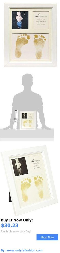 Baby Picture Frames: The Grandparent Gift Co. Baby Keepsakes Little Feet Footprint Frame, White 9011W BUY IT NOW ONLY: $30.23 #ustylefashionBabyPictureFrames OR #ustylefashion