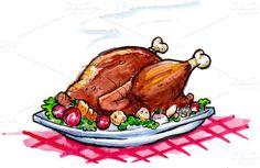 Turkey Dinner by DearthCo http://crtv.mk/tMbj
