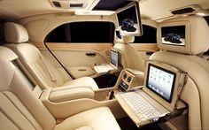 Bentley Mulsanne Executive Interior 2013