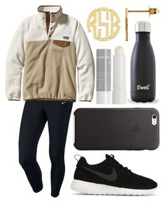 """""""Just got an MRI"""" by emmacaseyyyy ❤ liked on Polyvore featuring NIKE, Patagonia, Korres, women's clothing, women's fashion, women, female, woman, misses and juniors"""