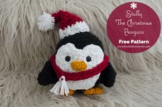 I am so excited to bring you my second pattern for the Holiday Blog Hop! I love making stuffies and I thought that a cute Christmas penguin would be perfect for this blog hop series. Stuffy The Christmas Penguin is a great little amigurumi stuffy that is perfect as a gift for your little one …