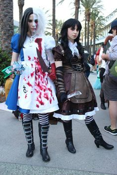 Alice Madness Returns Alice Stream Cosplay Costume $119.99 Cosplayer Photos submitted by Hitomi Chan Cosplay (Photographer is York in A Box)