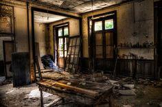 Abandonded, Interior, Hdr